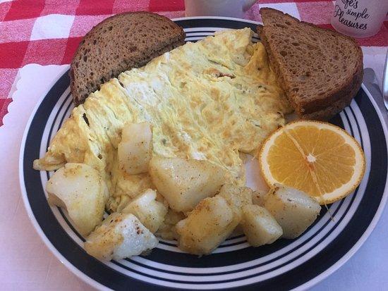 Spanish Omelette - Rosalie's, Iroquois Falls ON