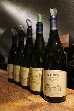 Villié-Morgon, France : Wines from tasting