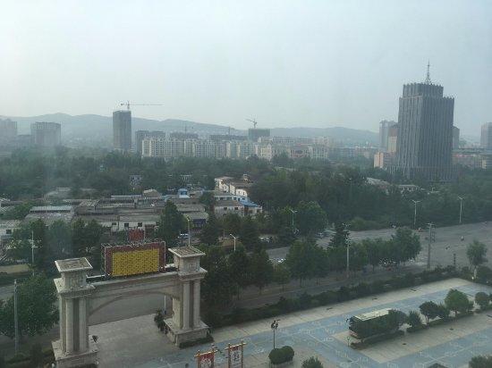 Xinmi, Kina: 從房間看出去的風景