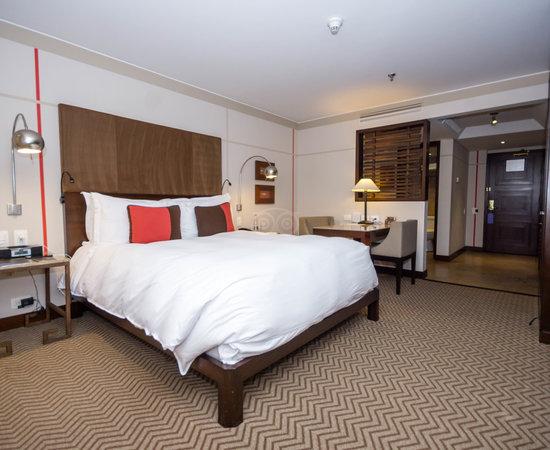 The Superior Room at the Sofitel Bogota Victoria Regia