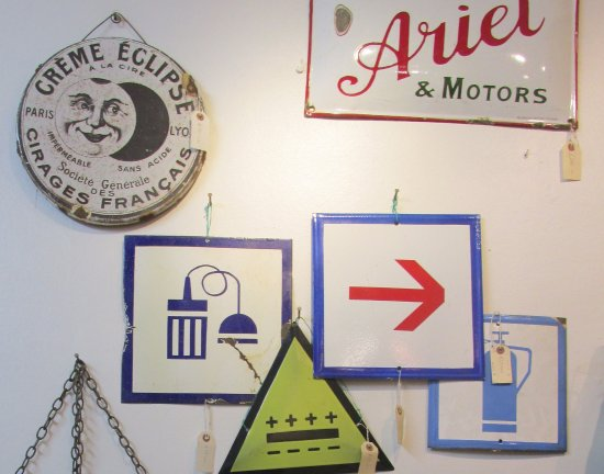 Vintage Signs For Sale >> Antique Vintage Enamel Signs For Sale At The Antiques Centre York