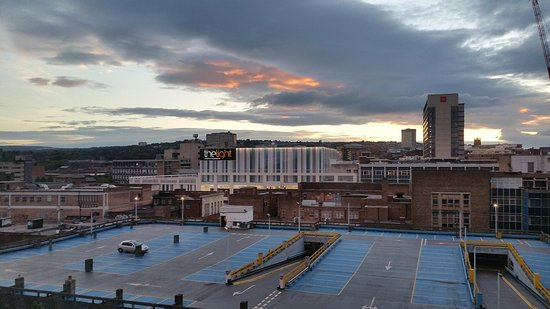 Jurys Inn Sheffield: City View