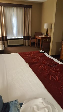 Comfort Suites: Great king size suite