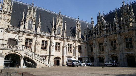 Image result for Palais de justice de Rouen