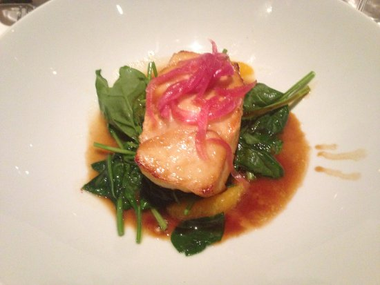 Fleming's Prime Steakhouse & Wine Bar: Miso-glazed Chilean Sea Bass