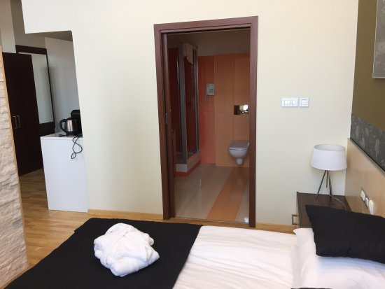 La salle d eau la chambre le coin salon bureau+un coin cuisine que l ...