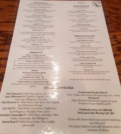 Popover Cafe Simsbury Ct Menu