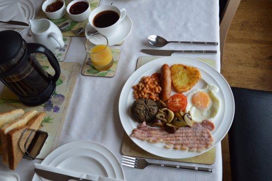 Mavisburn Bed & Breakfast: full scottish breakfast