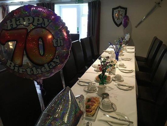 Kirkbymoorside, UK: Perfect for celebrating