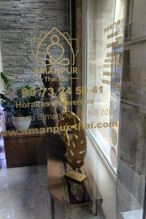 AMANPUR THAI SPA _ THE DOOR & AMANPUR THAI SPA _ THE DOOR - Picture of Amanpur Thai Spa Paris ...