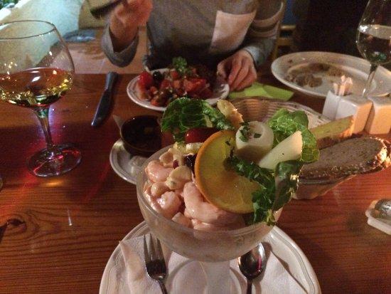 La Matanza de Acentejo, Spanje: Salad, Seafood Cocktail