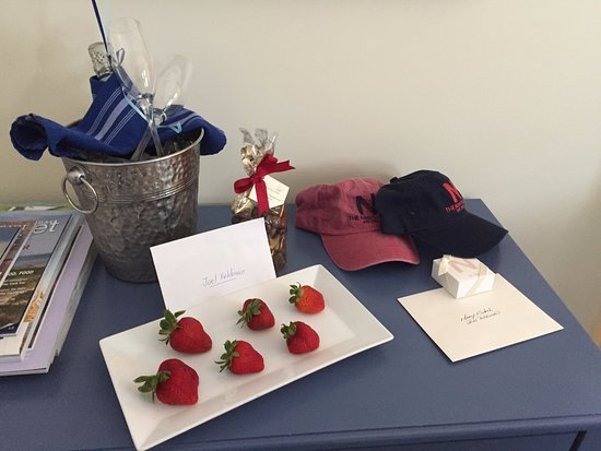 The Nantucket Hotel & Resort: The concierge did a great job preparing a suprise birthday request .