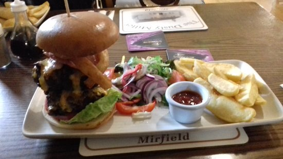 The Dusty Bar And Restaurant Mirfield Menu