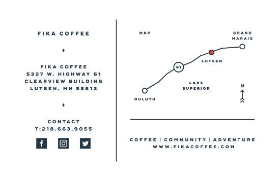 Fika Coffee |  Lutsen, MN