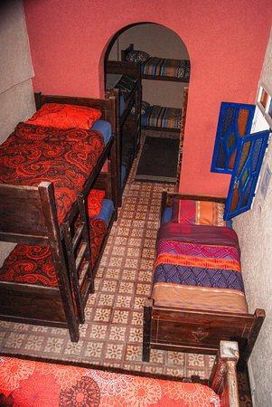 Moroccan Room 8 Beds Dorm With Colors And Decorations Of Morocco
