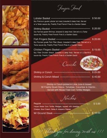RD's Diner: RD's Official Menu