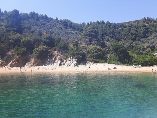 Skiathos, Greece: Kalamaki beach