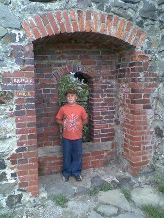 Uzhhorod Castle: замковая стена