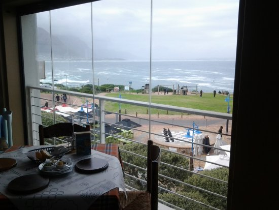 Ocean Basket: View from our table