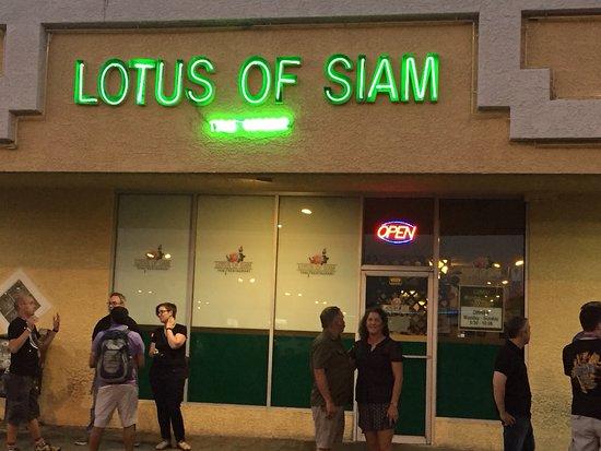 Lotus of Siam: Worth it.