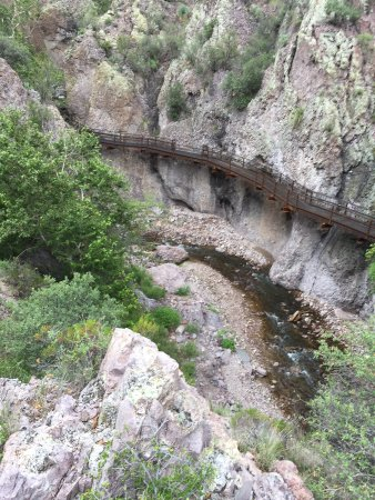 "Glenwood, NM: The ""accessible trail"", viewed from the other side"