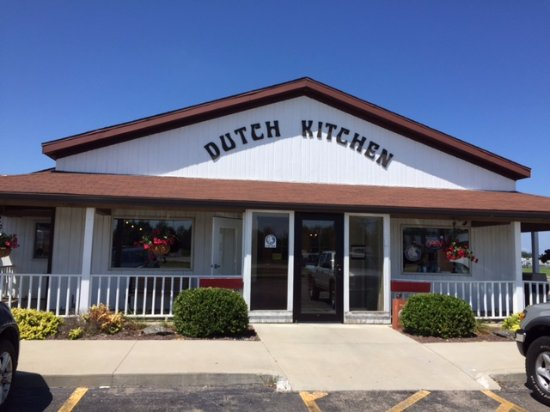 Nappanee, IN: Dutch Kitchen Front Entrance