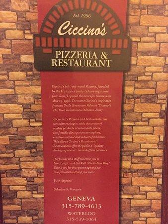 Ciccino's Pizzeria & Restaurant : photo0.jpg