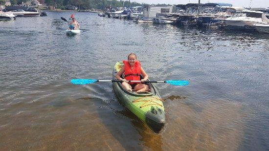 Lexington, Carolina Selatan: Sit down and enjoy the water with AquaFun Paddle