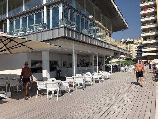 Sol Don Marco: Beach Club, del hotel Sol Don Pablo