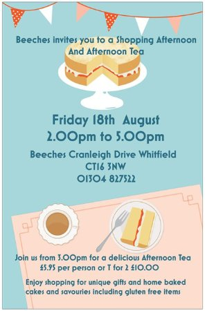 Whitfield, UK: Our next event on Friday 18th August