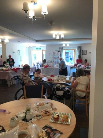 Whitfield, UK: Our last event with Afternoon Tea