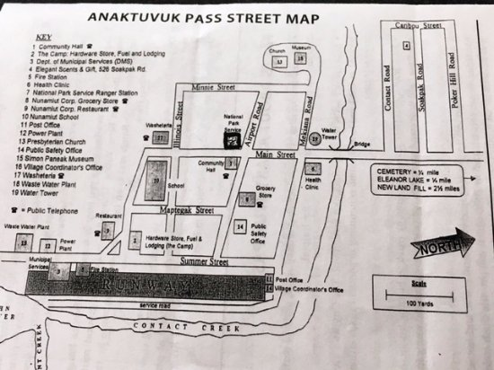 Anaktuvuk Pass, AK: Street Map