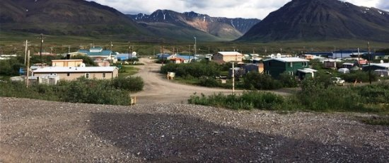 Anaktuvuk Pass, AK: Town & Mountains