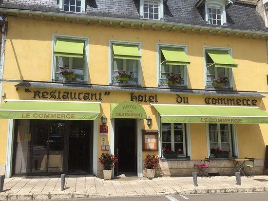 Hotel restaurant du commerce bar sur seine france for Restaurant bar sur aube