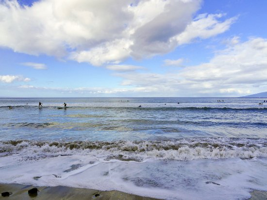 Maui Surf Lessons Puamana Beach