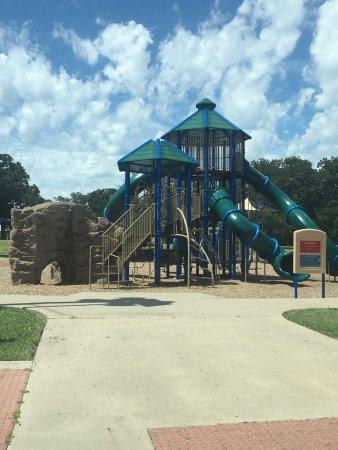 Graham Park is a Greenville's oldest Park, but has been recently renovated!