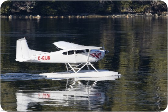 Hot Springs Cove : You can also go by plane …