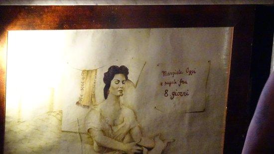 Decorazione Bagnoli : Decorazione del bancone foto di teatro greco romano napoli