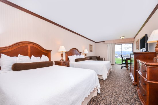 Sandpoint, ID: Double Queen room at lake level