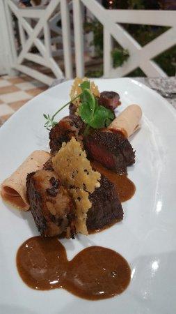 Saleilles, France : Du début à la fin du repas ce fût une délicieuse expérience