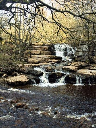 Kisdon Force (lower falls) near Keld