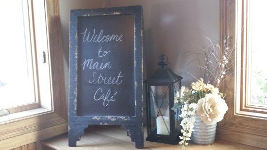 Main Street Cafe Newtown Cincinnati