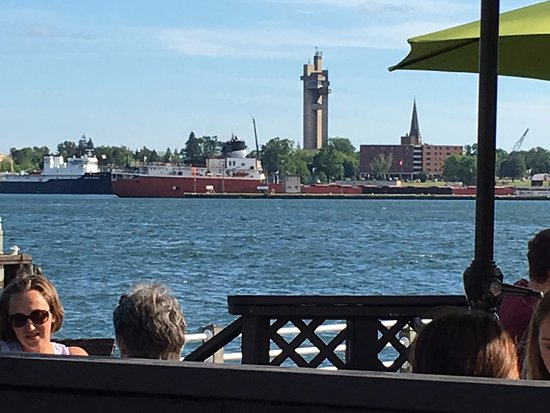 Sault Ste. Marie, كندا: Lunch on the patio