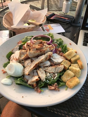 Delaware, OH: my chicken salad... very good!!!