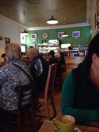 Blackheath, أستراليا: Breakfast at wattle cafe