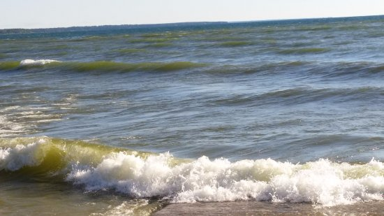 Egg Harbor, WI: to rough that day to kayak