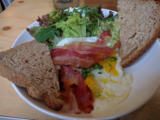 Yeti Bacon, Eggs and Toast
