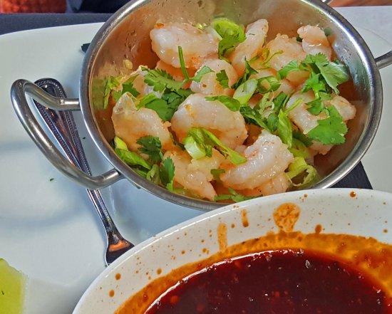 Never Blue: Spicy Shrimp