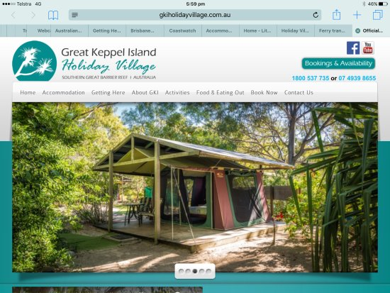 Great Keppel Island Bild