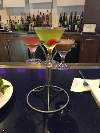 Plainsboro, NJ: Kelvin Lewis made these phenomenal mixed drinks for us at the flight martini and wine lounge, ex